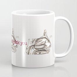 I would always pick you vintage illustration Coffee Mug