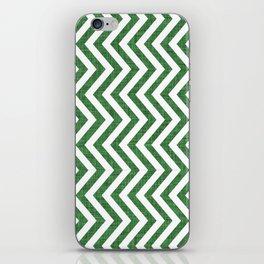 Canadian Wildlife Chevron Emerald iPhone Skin