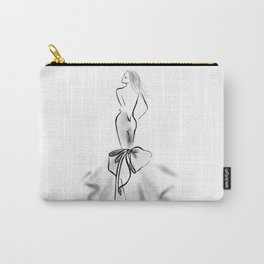 Black Tie Event Carry-All Pouch