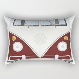 Hippie bus Rectangular Pillow