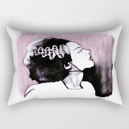 No Nonsense About Angels And Being Good Rectangular Pillow
