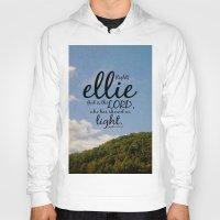 ellie goulding Hoodies featuring Ellie by KimberosePhotography
