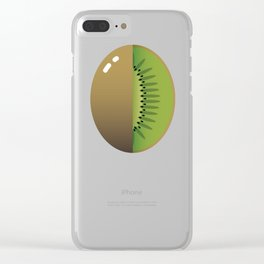 Sweet kiwi Clear iPhone Case