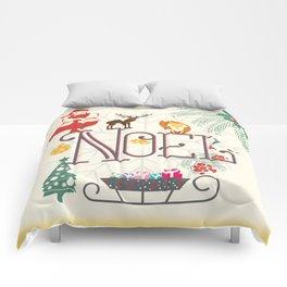 Christmas Noel Comforters