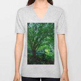 The Greenest Tree Unisex V-Neck