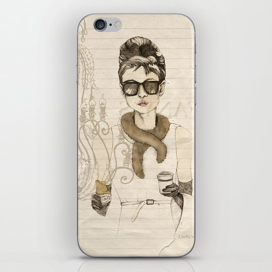 My breakfast at Tiffany's iPhone & iPod Skin