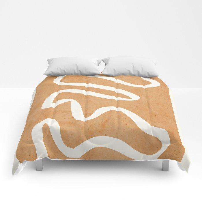 abstract minimal 31 Comforters