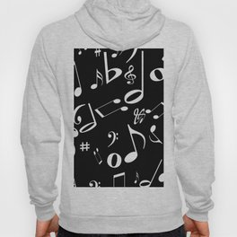 Music in the Air Black Hoody