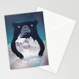 I Love Winter Stationery Cards