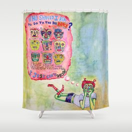 Sadie Hawkins Shower Curtain