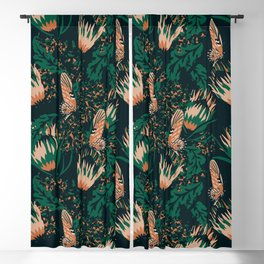 Boheme Butterfly Blackout Curtain