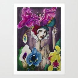 Dancing in my memories Art Print