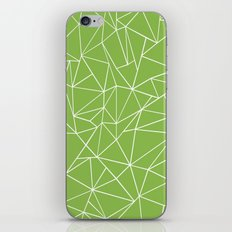 Ab Outline Greeny iPhone & iPod Skin
