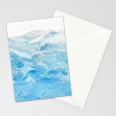 Ice and water Stationery Cards