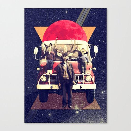 El Camion Canvas Print