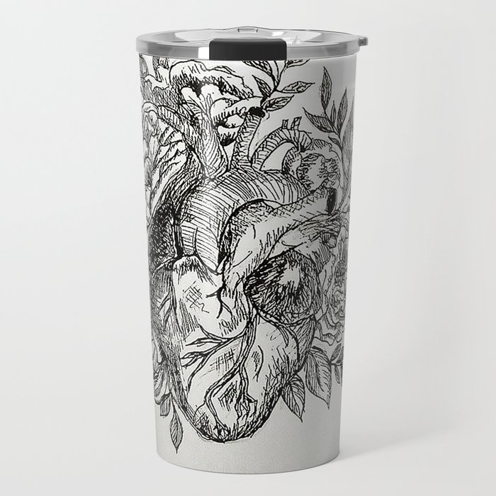 Flowers of your Love Travel Mug