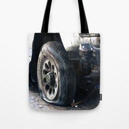 Flat Tire! Tote Bag