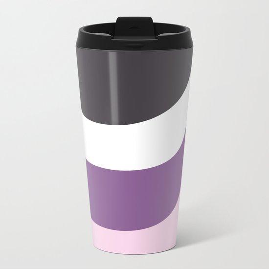 Pink Drop Metal Travel Mug