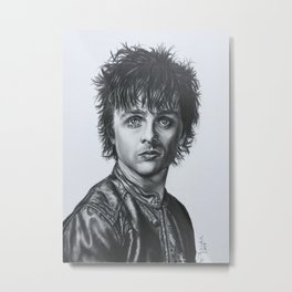 Leather and Billie Joe Armstrong Metal Print