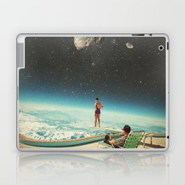 Summer with a Chance of Asteroids Laptop & iPad Skin