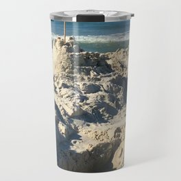Castle in the Sand Travel Mug
