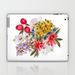 Farmers Market Bouquet 1 Laptop & iPad Skin