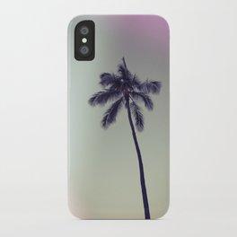 palm tree ver.vintage iPhone Case