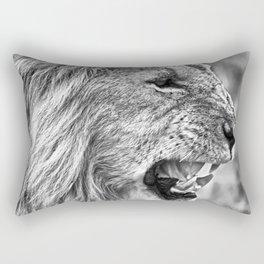 Fierce Lion Rectangular Pillow