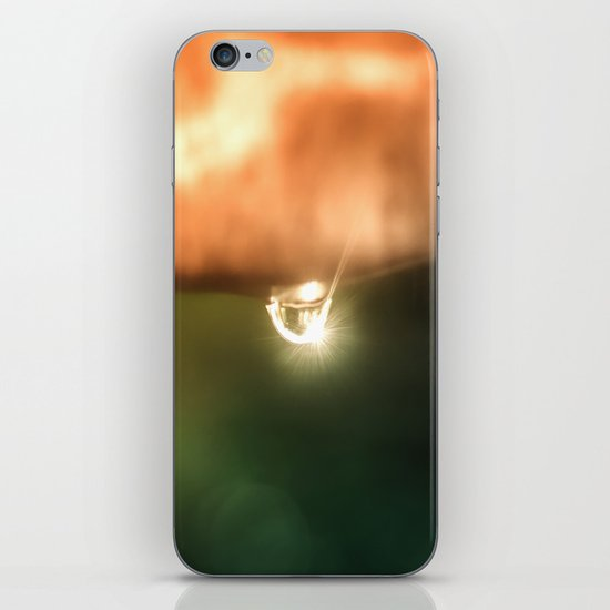 Just a drop of water in an endless sea iPhone & iPod Skin