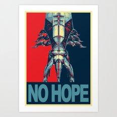 Reaper NO HOPE - Mass Effect Art Print
