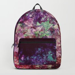 Grunge Concert Festival Background as Colorful Abstract Backpack