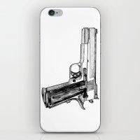 gun iPhone & iPod Skins featuring GUN by Seth Beukes