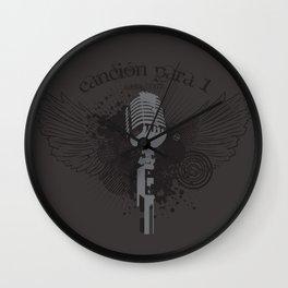 Canción para 1 Wall Clock