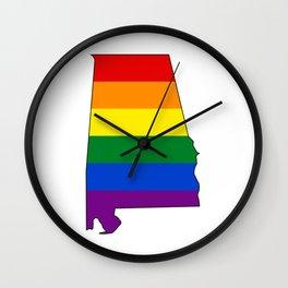 Alabama Pride! Wall Clock