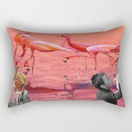 East meets west Rectangular Pillow