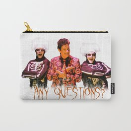 David S. Pumpkins - Any Questions? Carry-All Pouch