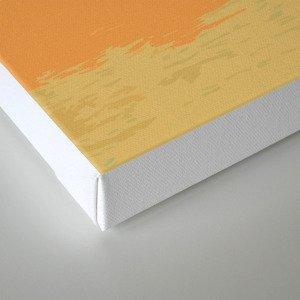 Königssee Orange Sunset Canvas Print