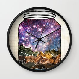 Love Can Move Mountains Wall Clock