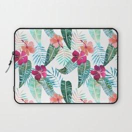 Island Goddess Tropical White Laptop Sleeve