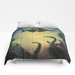 20,000 Leagues Under The Sea - Jules Verne Comforters
