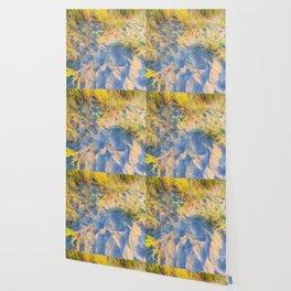 Beach Grass Paintings Wallpaper