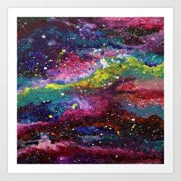 Galaxy Milkyway Art Print