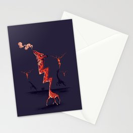 lightning rod Stationery Cards