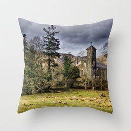 Sanctuary in the Storm Throw Pillow