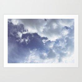 Iceland Sky Art Print