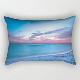 If By Sea - Sunset and Emerald Waters Near Destin Florida Rectangular Pillow