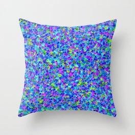 Pixel Fruit Throw Pillow
