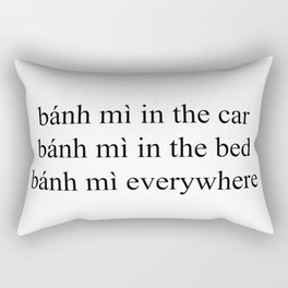 bánh mì Rectangular Pillow