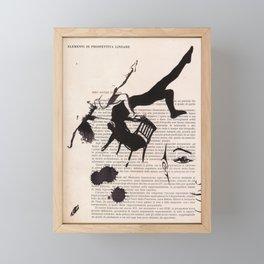 Tribute to Framed Mini Art Print