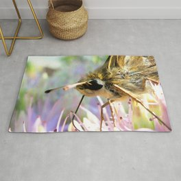 Watercolor Butterfly, Sachem Skipper Butterfly 03, Middletown, Maryland Rug